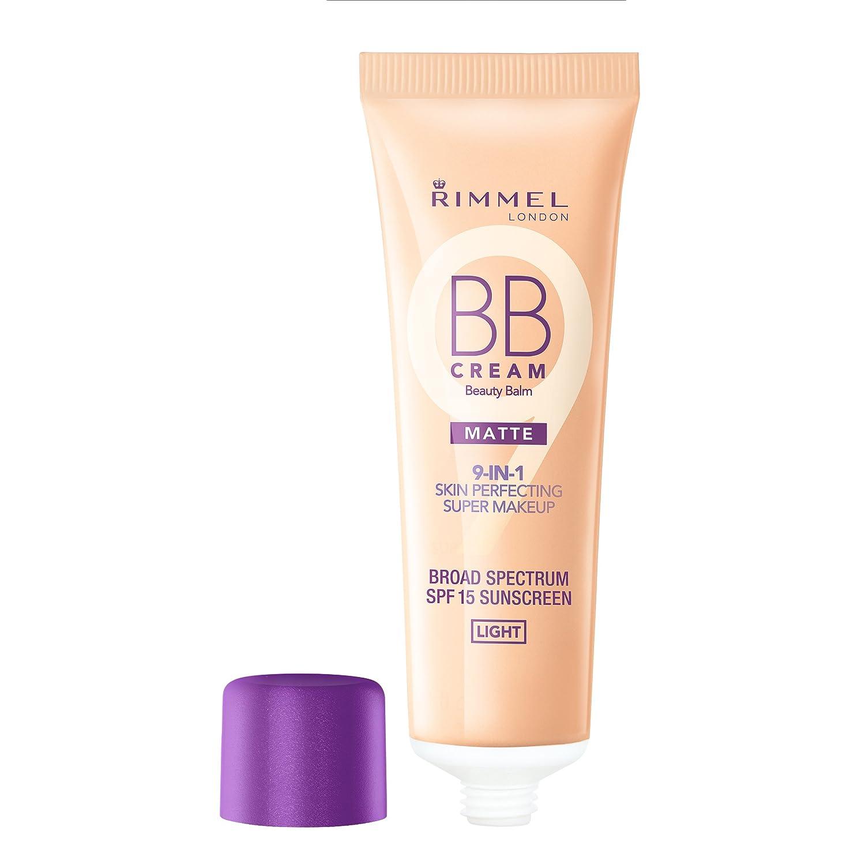 Rimmel–BB Cream matte–Crema BB Liquida –Medium–30ml 34788829004