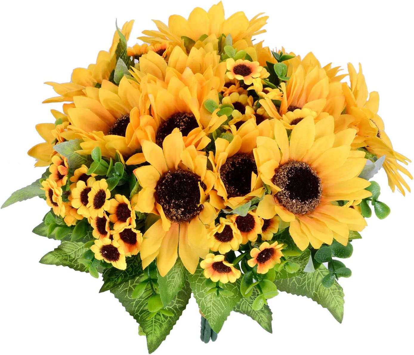 Assorted Big and Small Sunflower Bouquet