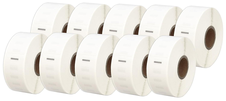 130 Etichette//Rotolo Printing Saver 5x 99010 28 x 89 mm Compatibili Rotoli Etichette adesive per Dymo LabelWriter 310 320 330 4XL 400 450 Turbo//Twin Turbo//Duo /& Seiko SLP etichettatrici