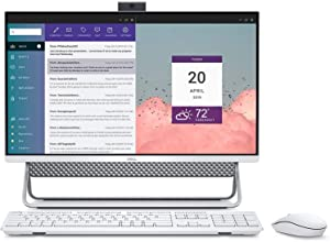 Dell Inspiron 24-5490 All-in-One Computer, 23.8 inch FHD Touchscreen (Intel Core 10th Generation i5-10210U, 8GB DDR4, 1TB HDD, WiFi, Bluetooth) Windows 10 Home, White