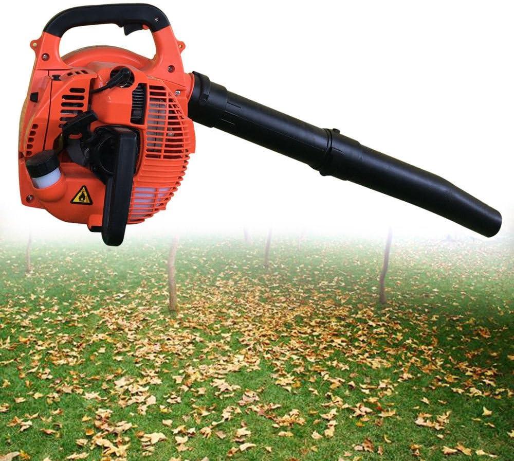 Aspiradora, sopladora, triturador de hojas exterior Jardín Soplador de Gasolina Motor 2-Stroke 26CC 700W: Amazon.es: Jardín