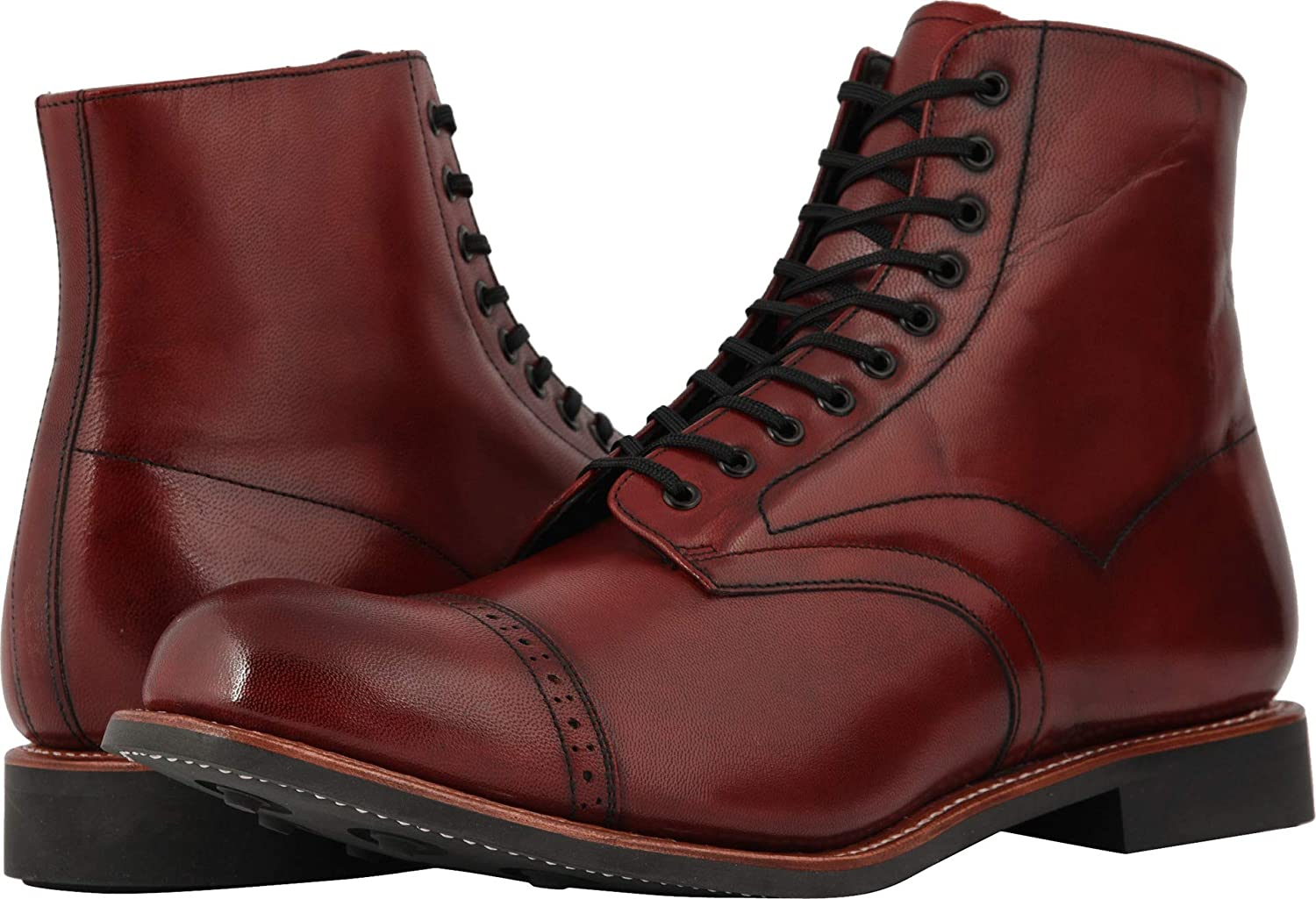 Stacy Adams Mens Madison Cap Toe Boot