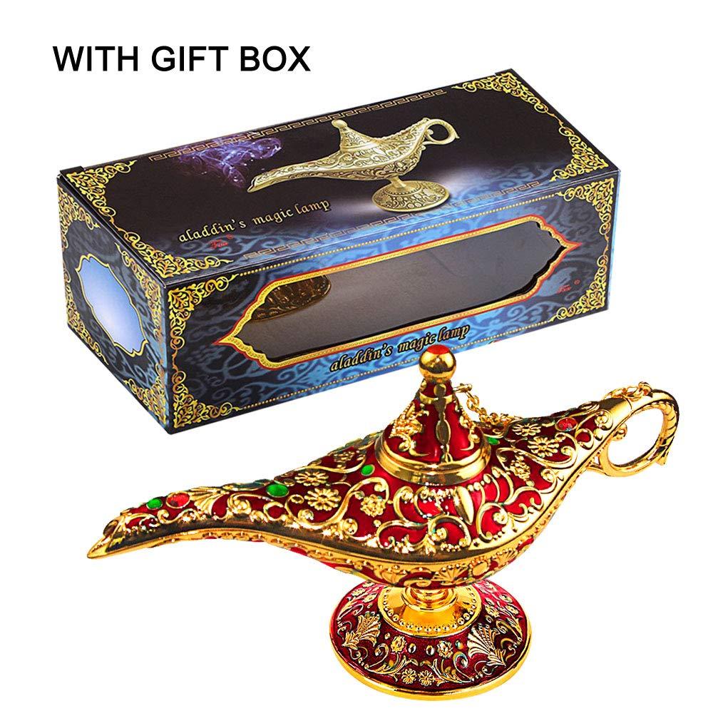 Collectable Classic Rare Aladdin Magic Genie Lamp Light Home Decoration//Gift