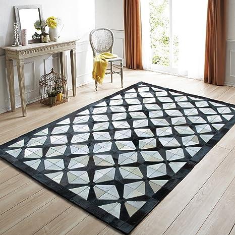 Amazon.com: Sofá de pelo de caballo alfombra/gris alfombra ...