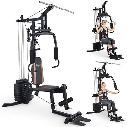 Physionics Fitness Station Multi Station Banco de pesas fitness dispositivo Entrenamiento Muscular
