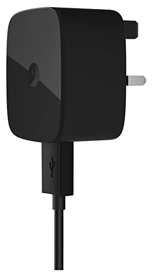 Motorola Fast Speed Turbo Mains Charger Compatible with Micro USB Enabled Smartphones and Tablets such as