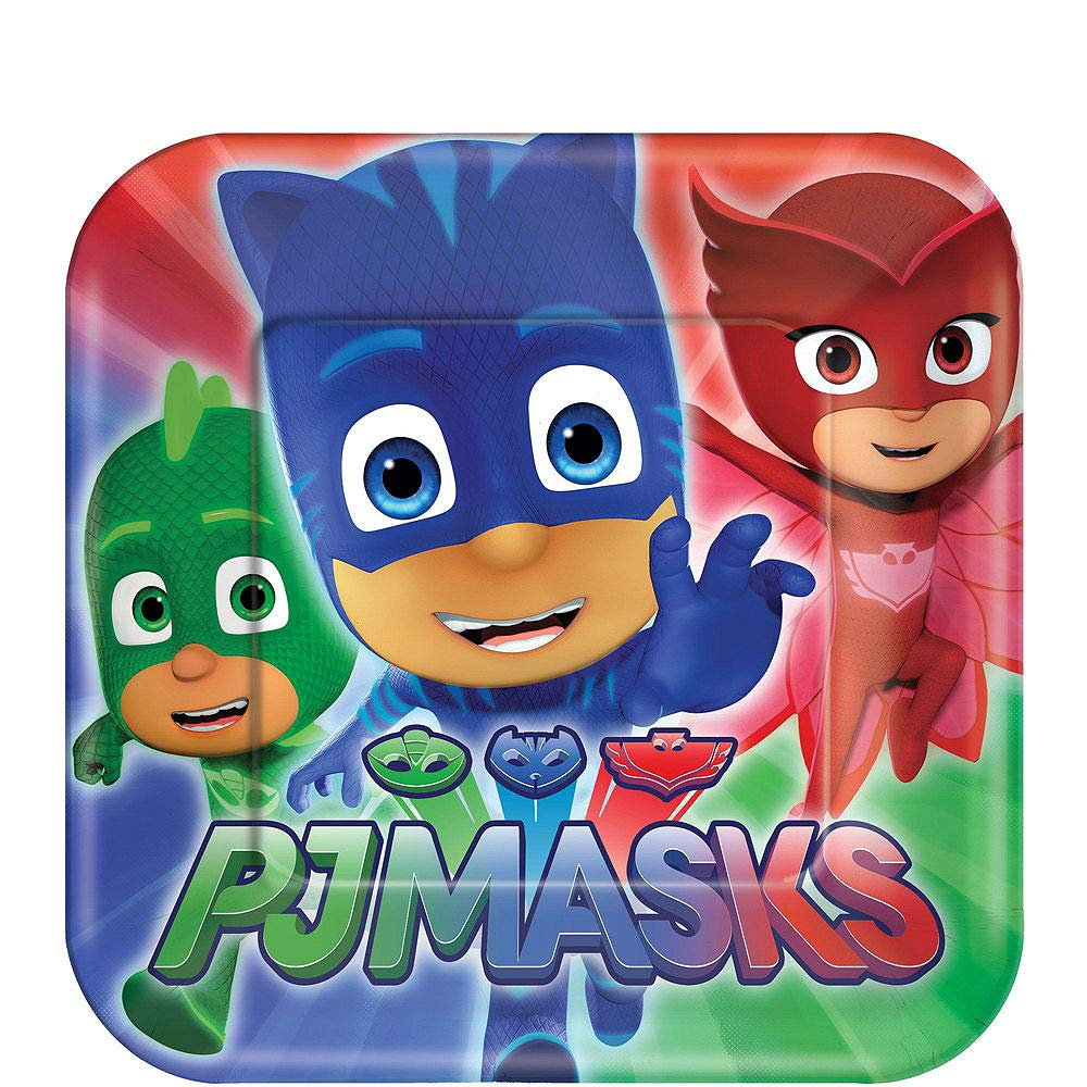 PJ Masks Birthday Party Kit, Includes Happy Birthday Banner and Birthday Candles, Serves 16, by Party City by Party City (Image #2)