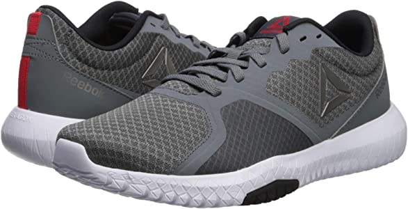 eaa47f3718d18 Men's Flexagon Force Cross Trainer, Alloy/White/Primal Red/Pewter/Black, 14  M US