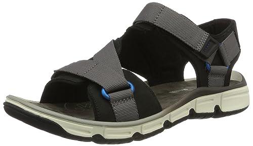 6e76d525d20e02 Clarks Men s Explore Active Black Flip Flops Thong Sandals - 8 UK India (42