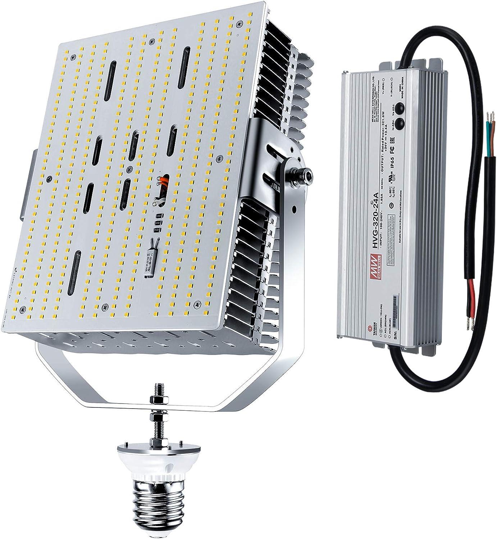 300W Shoebox LED Retrofit Kit Light E39 Mogul Screw Base 5700K Daylight ETL DLC
