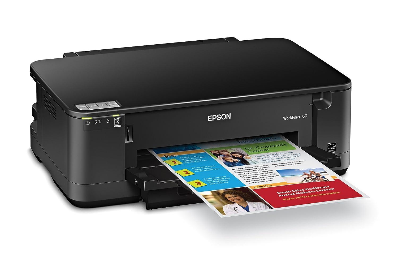 Amazon.com: Epson WorkForce 60 Wireless Color Inkjet Printer (C11CA77201):  Electronics