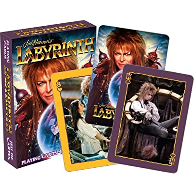 Aquarius Labyrinth Playing Cards: Toys & Games
