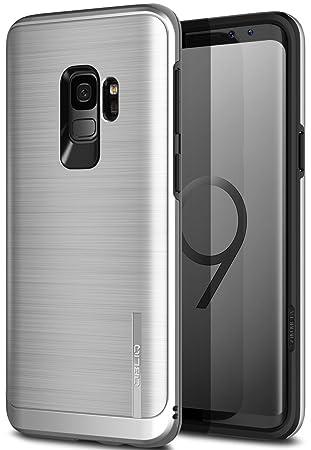 94e60c7d42 Galaxy S9 ケース 衝撃 吸収 耐衝撃 ハイブリッド 薄型 ハード カバー ストラップ ホール 付 アルミ 調