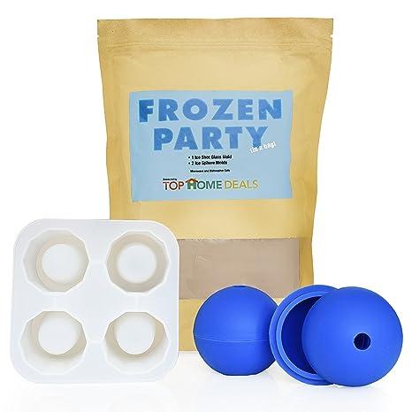 Fiesta de Frozen bolsa por Top Home deals- Cubito de hielo bandeja molde, crear su propio ...