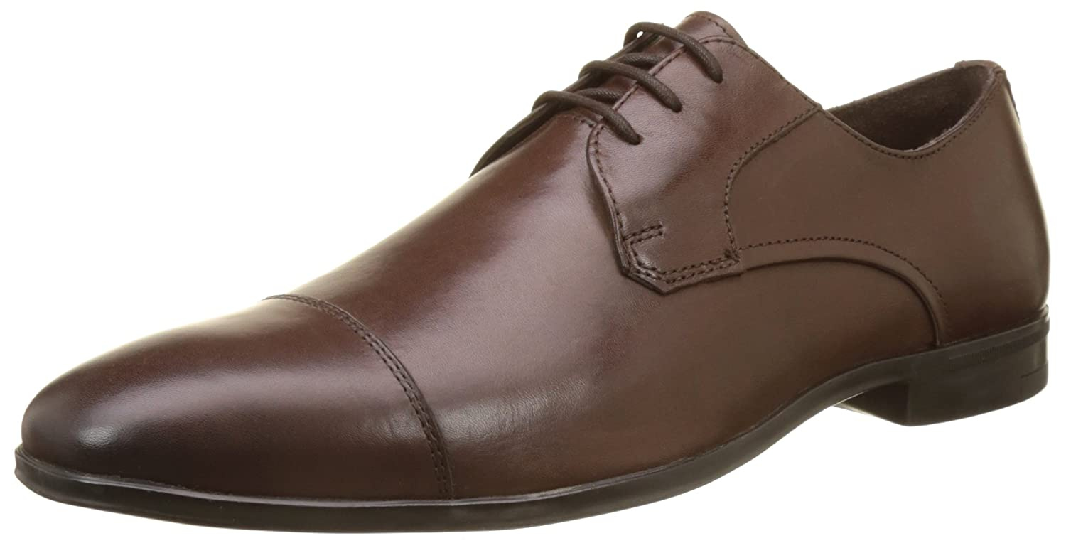 Busy, Scarpe Stringate Derby Uomo, Marrone (Marron 9), 42 EU Hush Puppies