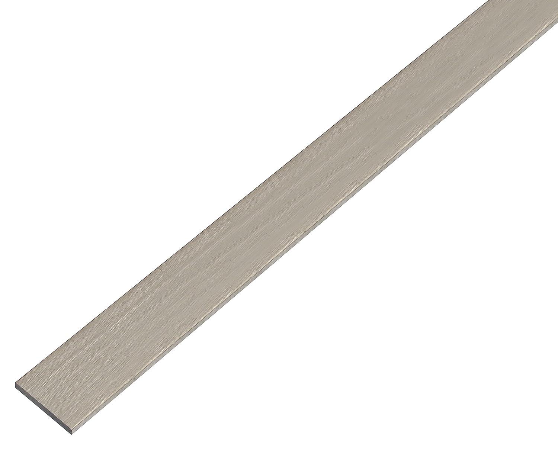 2000 x 30 x 2 mm GAH-Alberts 474386 Flachstange wei/ß Aluminium