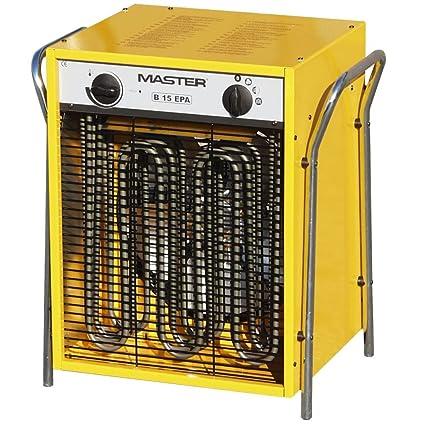 Master eléctrico Calefacción Ventilador B 15 Epb 15,0 kW, 3 niveles de calor