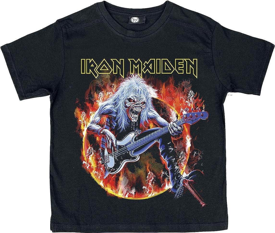 Iron Maiden Eddie Bass Kids shirt black