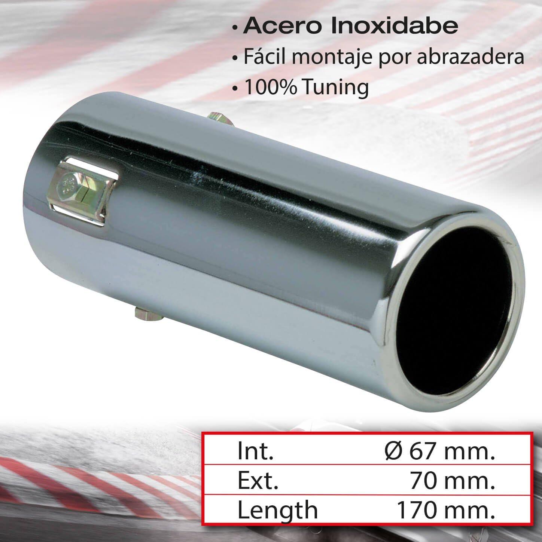 Chrome Sumex 4008700 Exhaust Trim Round