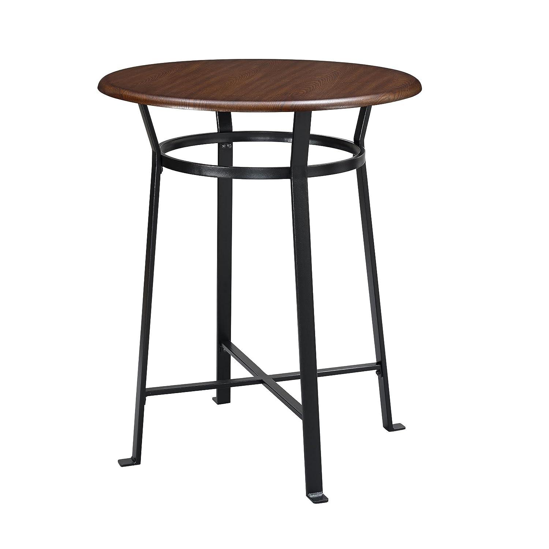 Amazon com dorel living montgomery 3 piece dining set dark mahogany table chair sets