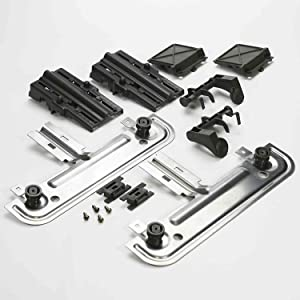 ERW10712394 For W10712394 Whirlpool Dishwasher Rack Adjuster Kit