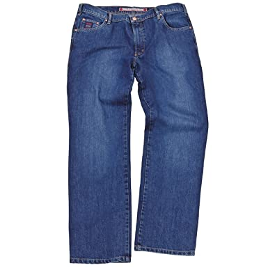 Stretch-Jeans-Hose Revils Kurzgröße blau stone washed Übergröße, deutsche  Größe 38K dedd8582e8