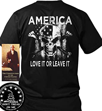 7c74ccc4e20 Amazon.com  Sons of Libery America. Love it Or Leave it. T-Shirt ...