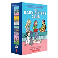 The Baby-Sitters Club Graphix #1-4 Box Set: Full-Colour Edition