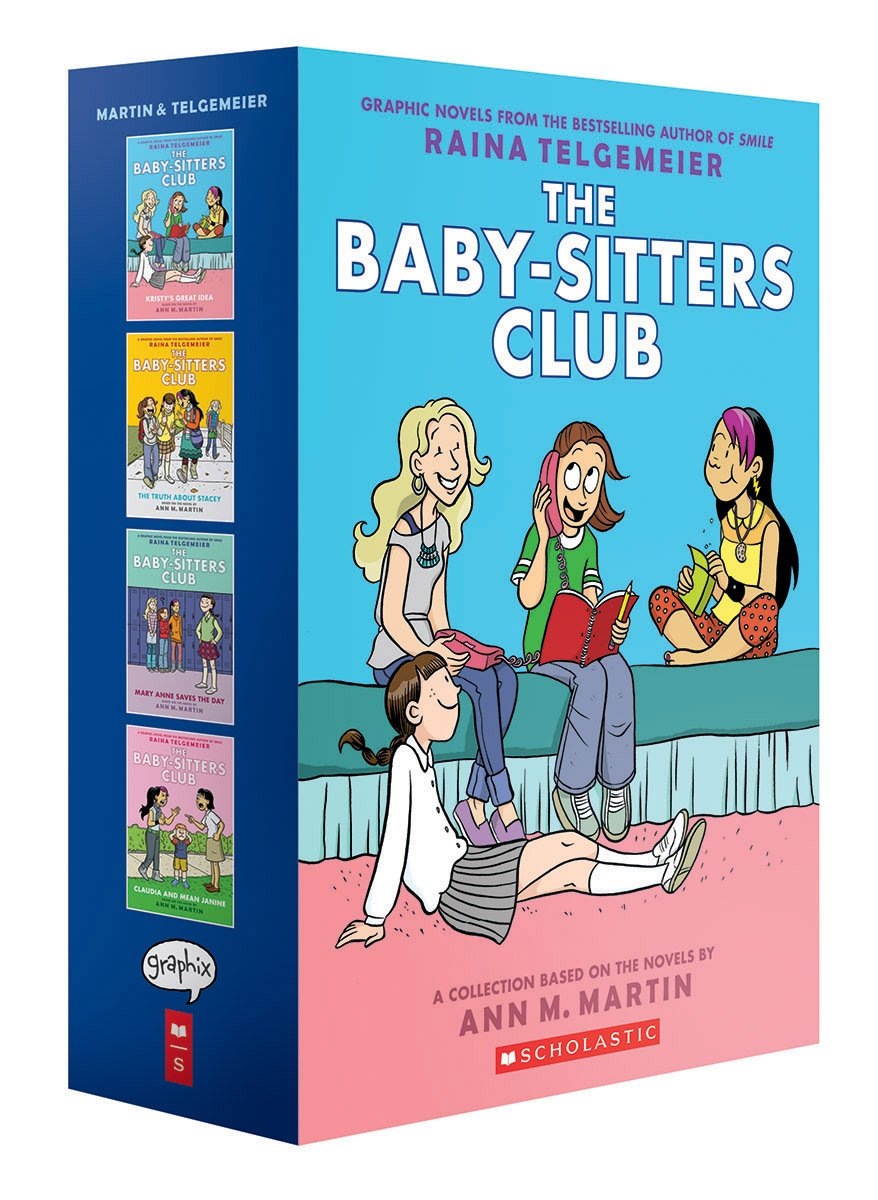 Image result for Baby Sitters Club graphic novels