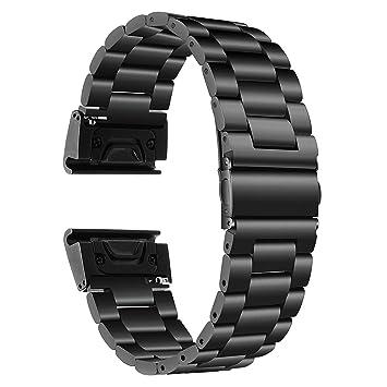 TRUMiRR Fenix 5S Correa de Reloj, 20mm Banda de Reloj de Pulsera ...