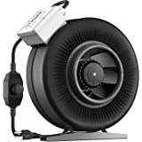 VIVOSUN 6 Inch 440 CFM Inline Duct Ventilation Fan with Variable Speed Controller