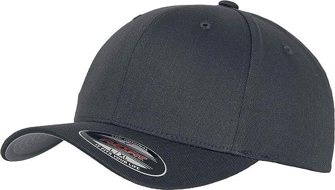 Damen und Kinder Farbe buck Gr/ö/ße L//XL Kappe ohne Verschluss f/ür Herren Flexfit Unisex Baseball Cap Wooly Combed