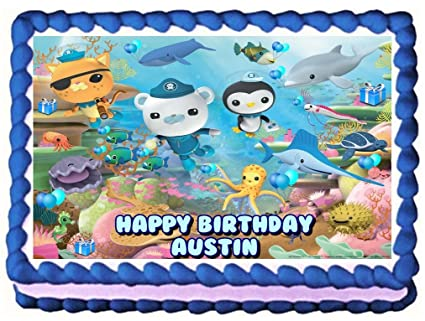 Sweet Candy Kisses Octonauts Edible Image Frosting Sheet Cake Topper
