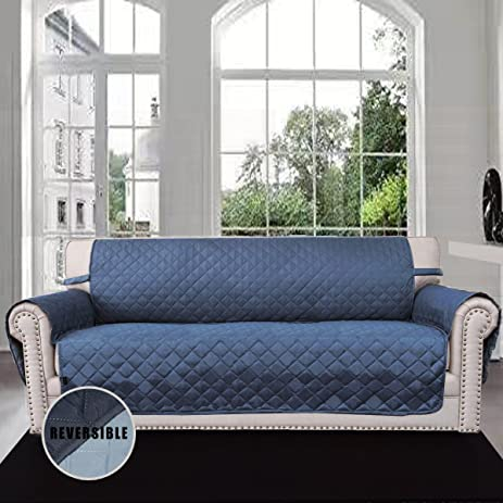 Amazon Reversible Quilted Furniture Protector Improved Anti