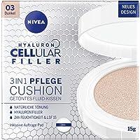 NIVEA 3in1 Anti-Age Care-kudde för naturlig färgning och fukt, Mörk hudtyp, 15 ml