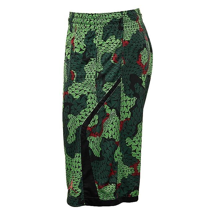 37fe26d773d Amazon.com | Nike Men's Jordan Flight Printed Black/Green 688530-010 (L) |  Basketball