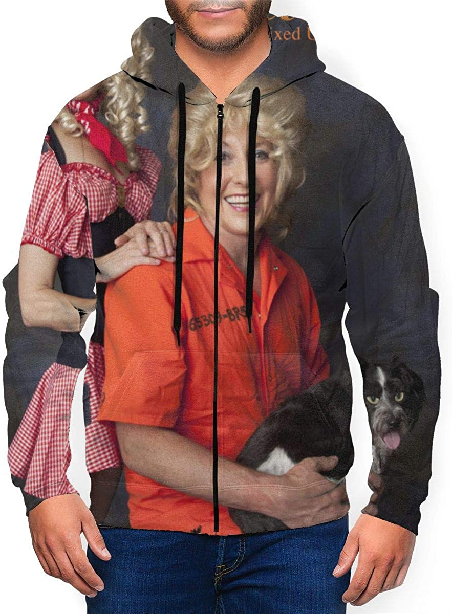 DABSON Puscifer All RE-Mixed UP Mens Hoodie Jacket Black