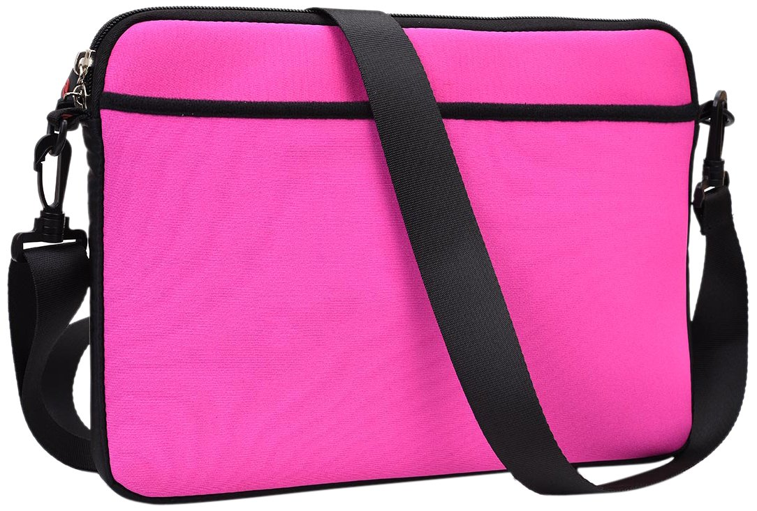 Kroo Neoprene Shoulder Bag with Pockets Fits up to 11-Inch Tablet (ND11SCE1-7286)