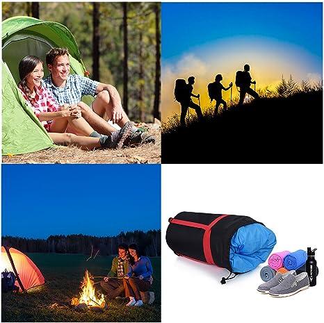RUNACC Sac de Compression pour Sac de Couchage Paquet Sac Rangement L/éger Portable et Etanche pour Camping ou Randonn/ée