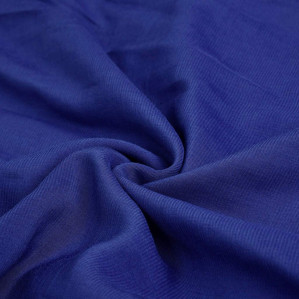 Robe pour Femme Millgood Solide Manches Courtes Col en V Occasionnels Robe D/ét/é Mi-mollet de la Mode des Femmes D/ét/é L/âche Robe Longue /él/égante