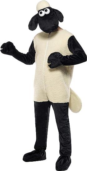 Smiffys - Disfraz de oveja adultos, talla L (38-40) (31329 ...