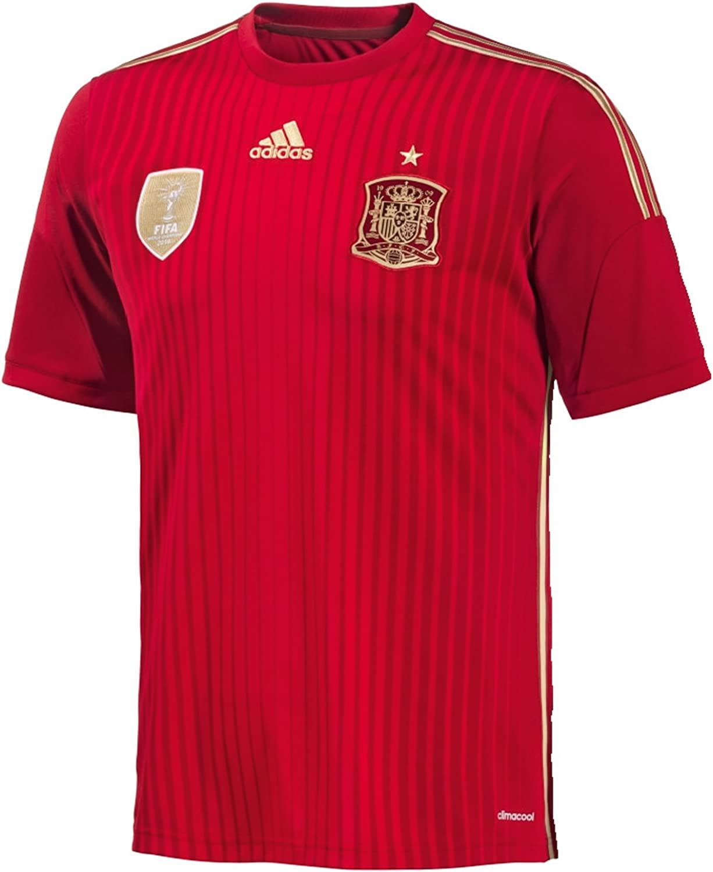 adidas FEF España Home Jersey, A.Iniesta 6, XL Chicos 32-86,36 cm - 86 cm - 13/14 Años: Amazon.es: Deportes y aire libre
