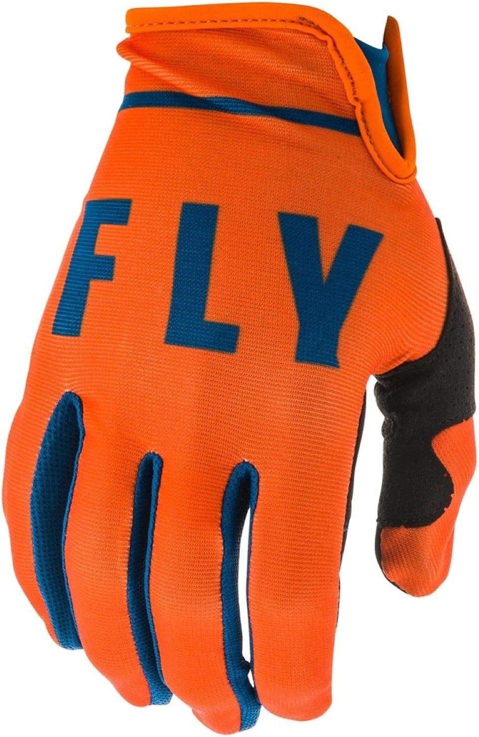 Black//White X-Large Fly Racing 2020 Lite Gloves