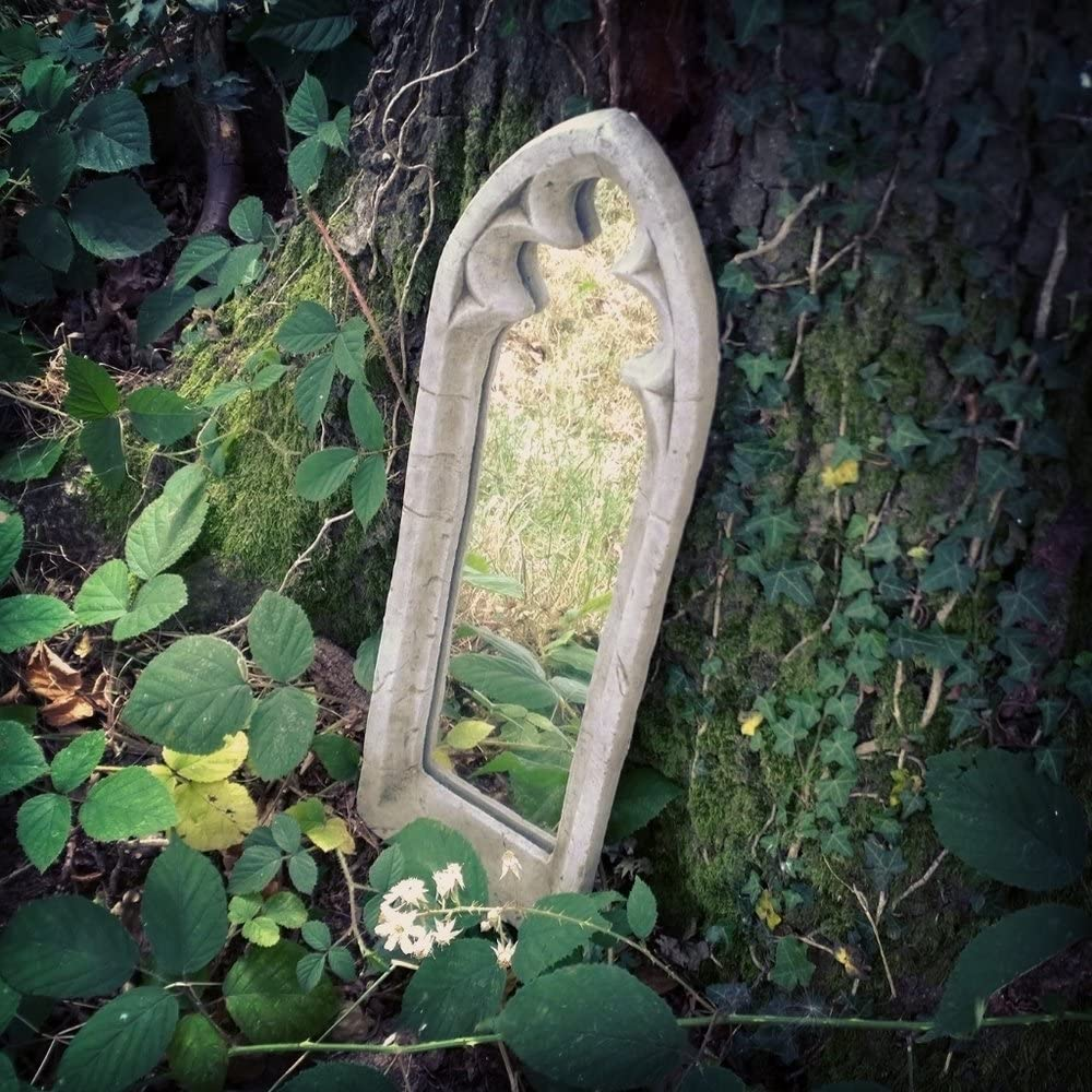 giftwarez - Espejo decorativo de pared con arco gótico para ...