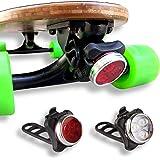 eggboards Led Skateboard Lights Underglow - Longboard Lights USB Rechargeable Front and Back. Ideal Electric Skateboard Light