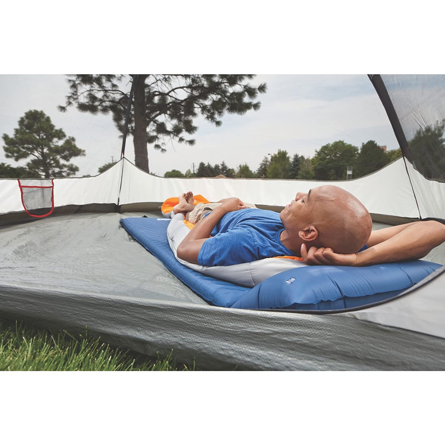 Amazon.com : Coleman Self-Inflating Camping Pad with Pillow : Self ...