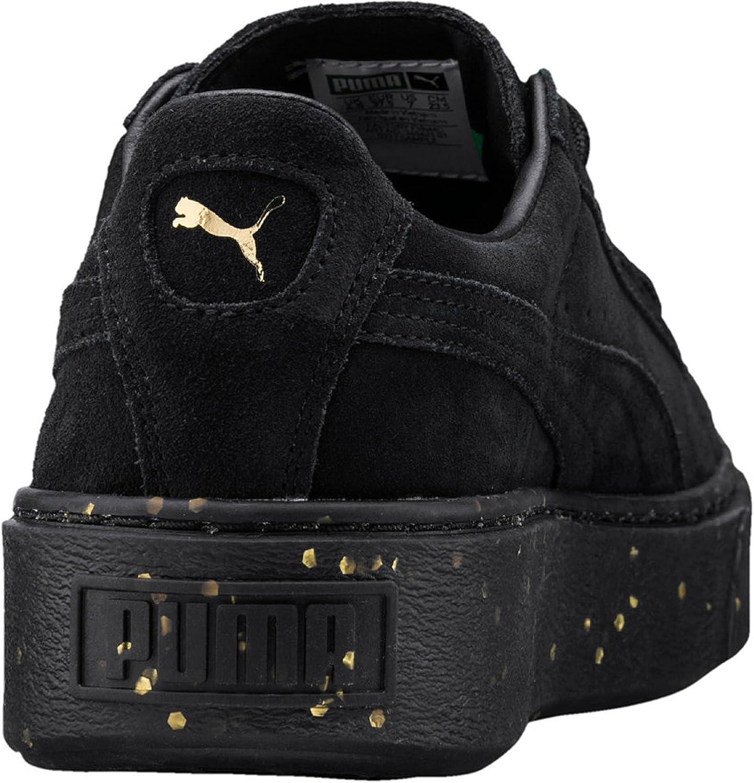 Puma Sneakers Suede Platform Celebrate Wn's Nero Oro 365621