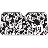 Plasticolor 003689R01 Mickey Mouse Expressions Accordion Style Car Truck SUV Front Windshield Sunshade