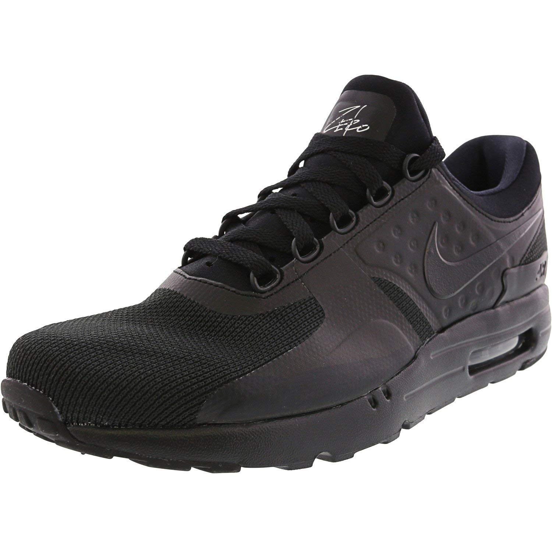 Nike Air Max Zero Essential Men's Shoes BlackBlackBlack 876070 006 (8.5 D(M) US)