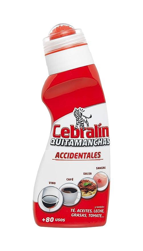 Cebralín - Quitamanchas Accidentales, Elimina manchas en Textiles, Lote de 6 x 157 ml